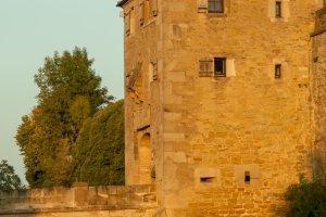 Zugang zur Burg Hohenasperg