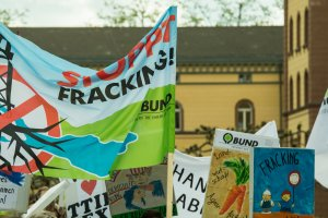 Demonstration gegen Fracking, Konstanz