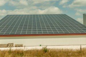 Photovoltaik auf Lagerräumen