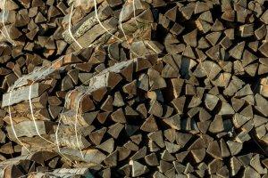 Scheitholz als Energieträger