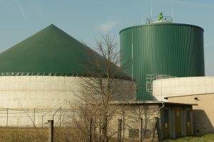 Biogasanlage: Gute Ökobilanz, wenn Reststoffe verwertet werden.