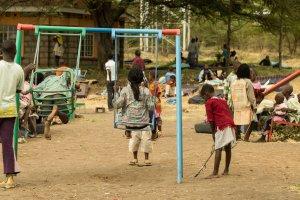 Spielplatz für die Kinder der MCF in Ndalani